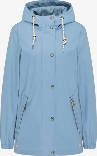 Schmuddelwedda Regenjacke in himmelblau, Produktansicht