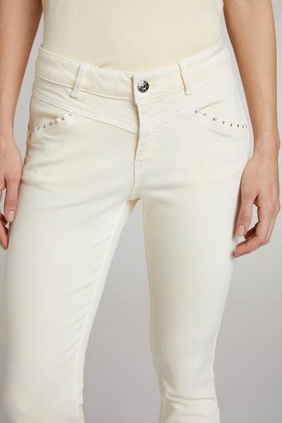 OUI Jeans in de kleur Wit, Modelweergave