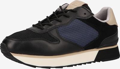 CAMEL ACTIVE Sneaker in beige / dunkelblau / schwarz, Produktansicht