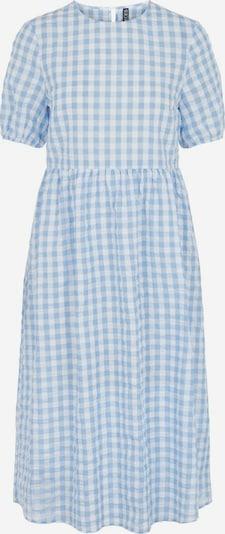PIECES Vestido en azul claro / blanco, Vista del producto