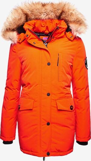 Superdry Winterparka in de kleur Sinaasappel, Productweergave