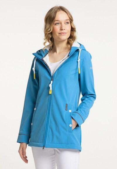 Schmuddelwedda Raincoat in Blue, View model