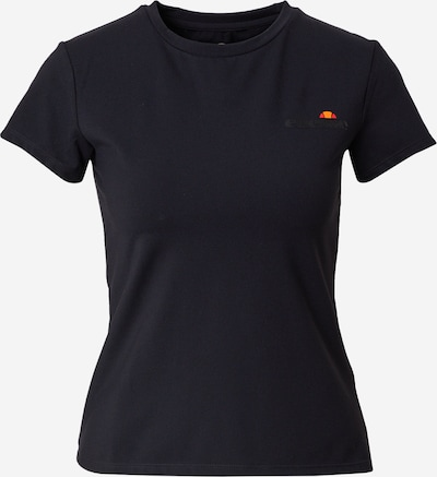 ELLESSE T-shirt fonctionnel 'Narcissa' en noir, Vue avec produit