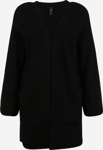 Y.A.S Petite Strickjacke 'ALVA' in Black