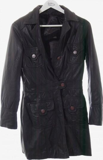 Maze Ledermantel in S in schwarz, Produktansicht