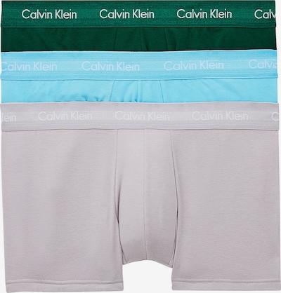 Calvin Klein Underwear Boxershorts in aqua / grau / tanne, Produktansicht