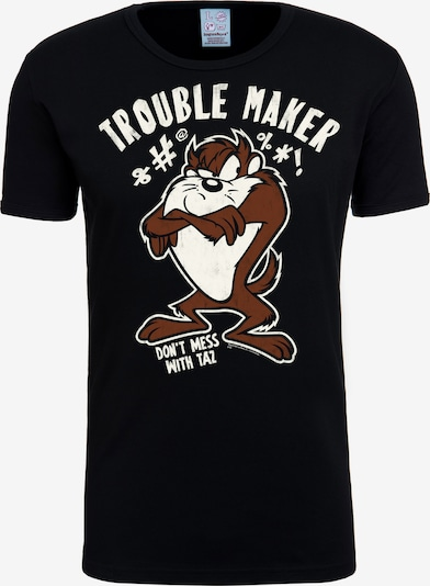 LOGOSHIRT T-Shirt 'Looney Tunes' in schwarz, Produktansicht