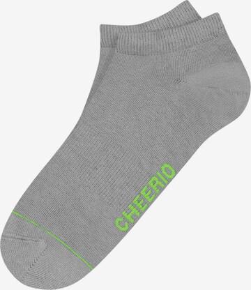 CHEERIO* Socks 'Sneaker Pal' in Grey