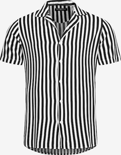 Redbridge Hemd 'Newark' in schwarz / weiß, Produktansicht