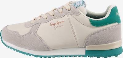 Sneaker low Pepe Jeans pe alb, Vizualizare produs