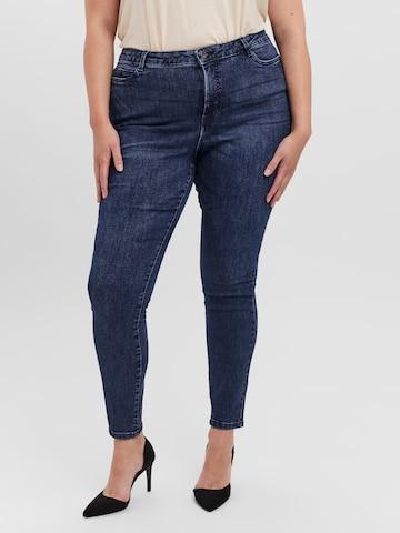 Vero Moda Curve Jeans in Blauw
