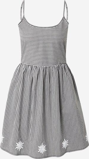 Trendyol Καλοκαιρινό φόρεμα σε μαύρο / λευκό, Άποψη προϊόντος