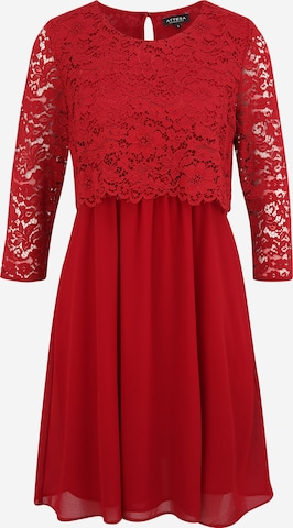 Attesa Cocktail Dress in Red