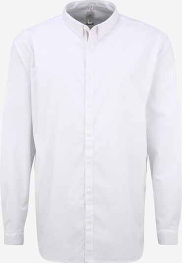 River Island Big & Tall Hemd 'Oxford' in weiß, Produktansicht