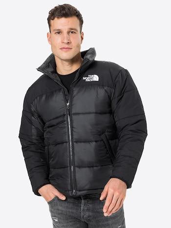 Zimní bunda THE NORTH FACE 'Himalayan' v černé barvě s bílým logem