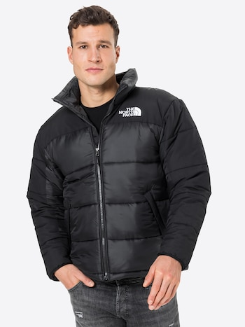 THE NORTH FACE zimska jakna 'Himalayan' u crnoj / bijeloj boji