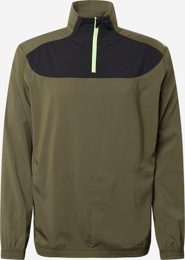 PUMA Athletic Jacket in Night blue / Olive / Light green, Item view