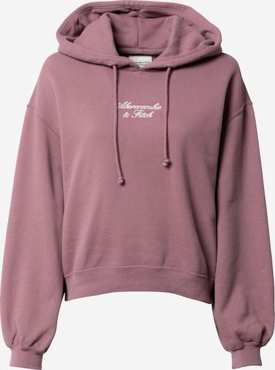 Abercrombie & Fitch Sweatshirt in Light purple / White, Item view