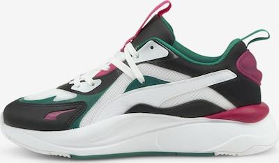 PUMA Sneaker in dunkelgrün / dunkelpink / schwarz / weiß, Produktansicht