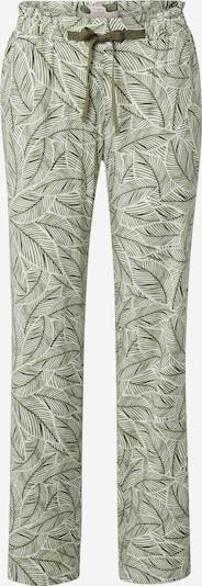 TRIUMPH Pyjamahousut värissä vihreä / oliivi / valkoinen, Tuotenäkymä