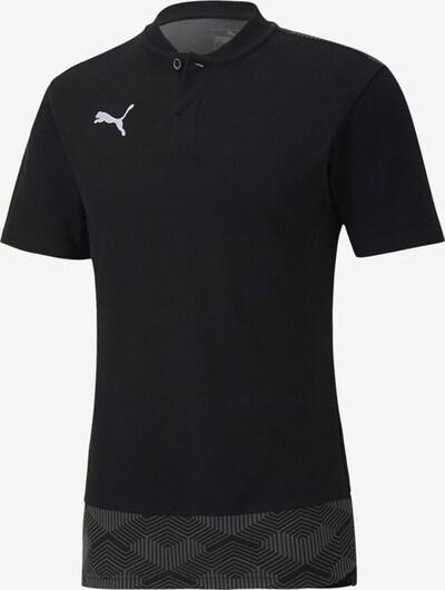 PUMA Performance Shirt in Grey / Black / White, Item view