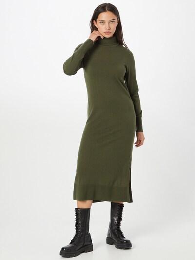 ILSE JACOBSEN Úpletové šaty - olivová, Model/ka