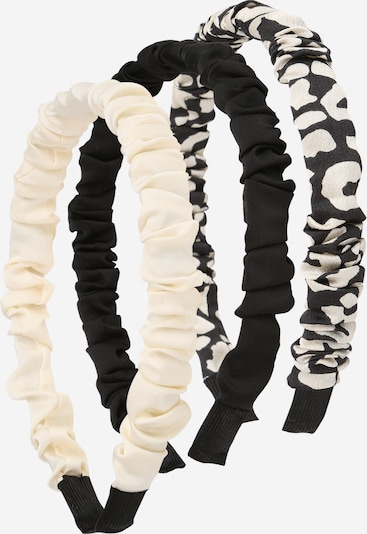 ABOUT YOU Hair jewelry 'Joanna' in Black / Off white, Item view