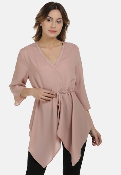 DreiMaster Klassik Bluse in nude, Modelansicht