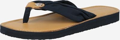 TOMMY HILFIGER Žabky - svetlobéžová / tmavomodrá, Produkt
