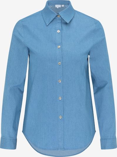 Camicia da donna usha BLUE LABEL di colore blu fumo, Visualizzazione prodotti