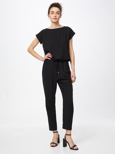 MADS NORGAARD COPENHAGEN Jumpsuit 'Georgette' in de kleur Zwart, Modelweergave