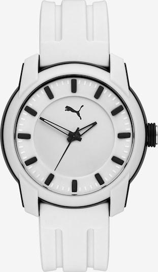 PUMA Uhr in schwarz / weiß, Produktansicht