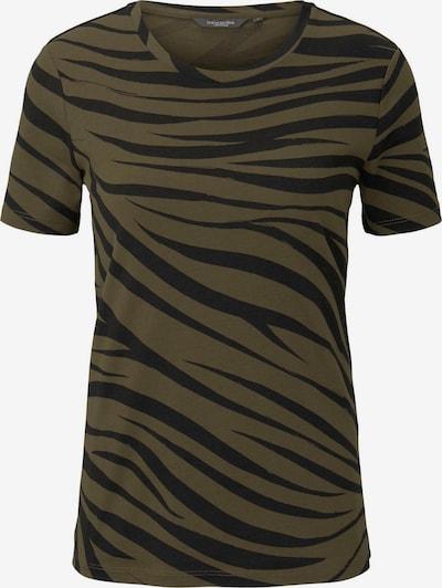 MINE TO FIVE T-Shirt in dunkelgrün / schwarz, Produktansicht