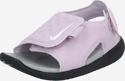 NIKE Sandale 'Sunray Adjust 5' in dunkelgrau / lila, Produktansicht