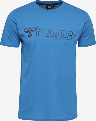 Hummel T-shirt in blau, Produktansicht