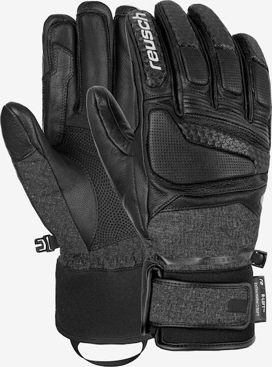 REUSCH Fingerhandschuhe 'Profi SL' in schwarz / schwarzmeliert, Produktansicht
