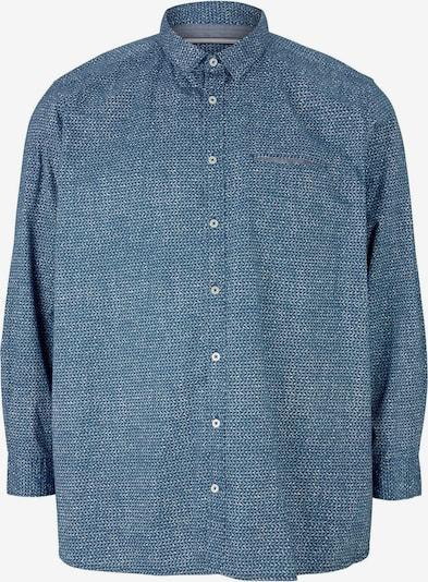 TOM TAILOR Men + Hemd in taubenblau, Produktansicht