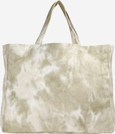 LeGer by Lena Gercke Cabas 'Medina ' en vert / blanc cassé, Vue avec produit