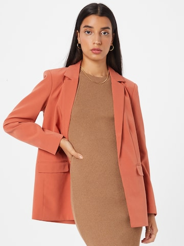PIECES Blazer 'BOSSY' in Red