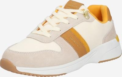 GANT Baskets basses 'Delyn' en beige / marron, Vue avec produit