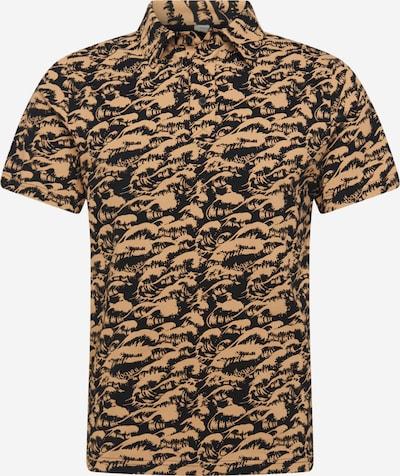 Tricou Degree pe bej / albastru închis, Vizualizare produs