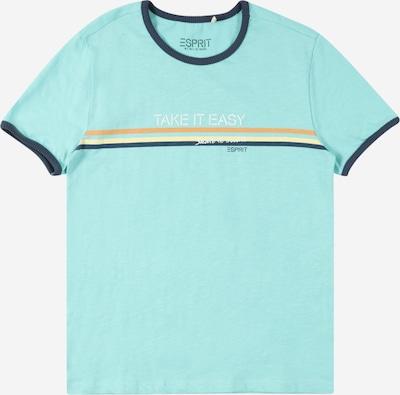 ESPRIT Shirt in Beige / Dark blue / Yellow / Jade, Item view