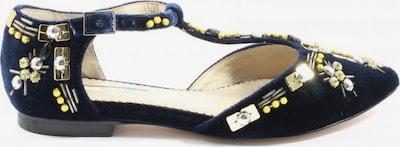 Boden Klassische Ballerinas in 38 in blau / gold, Produktansicht