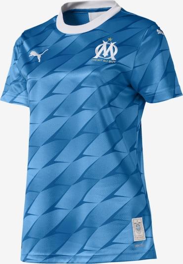 PUMA Tricot 'Olympique de Marseille' in de kleur Opaal / Hemelsblauw, Productweergave