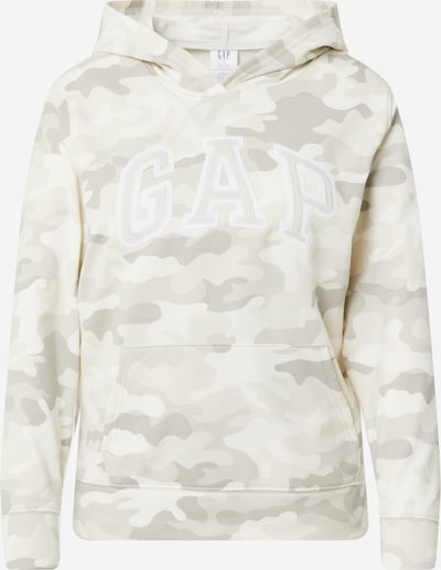 GAP Sweatshirt in grau / grün / weiß, Produktansicht