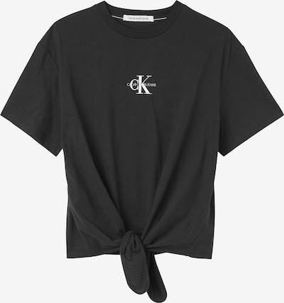 Calvin Klein Jeans T-Shirt in schwarz / weiß, Produktansicht