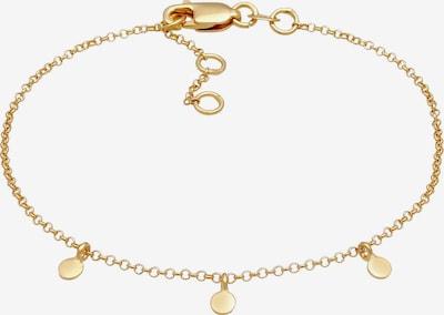 ELLI PREMIUM Armband Kreis in gold, Produktansicht
