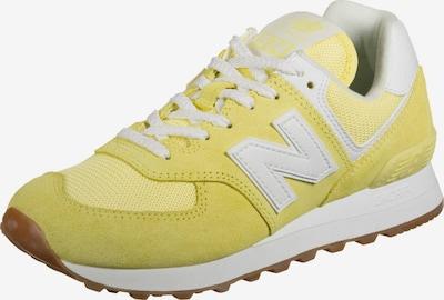 new balance Sneaker in hellgelb / weiß, Produktansicht