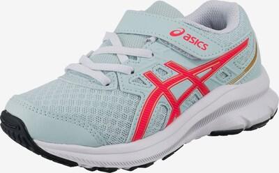ASICS Sportovní boty 'CONTEND GS' - pastelová modrá / červená / bílá, Produkt