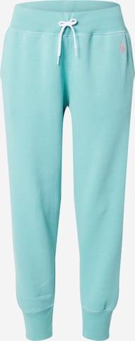 Pantaloni de la Polo Ralph Lauren pe albastru